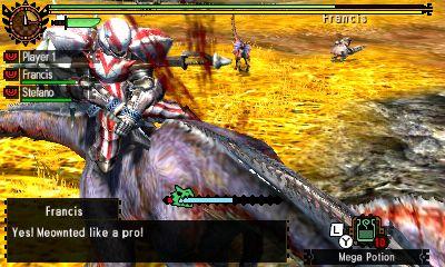 Monster Hunter 4 Ultimate Dos de Jaggi