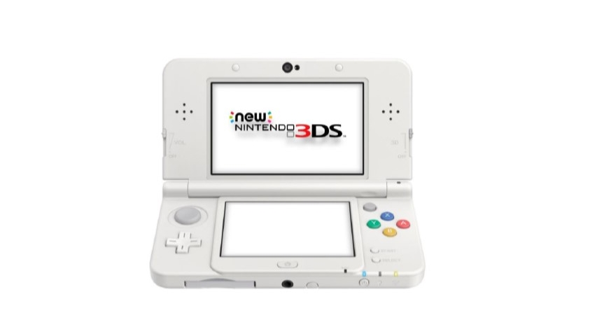 Console New 3DS blanche