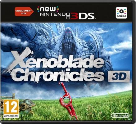 Packshot de Xenoblade Chronicles 3D