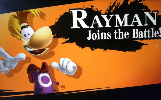 Rayman in Super Smash Bros.