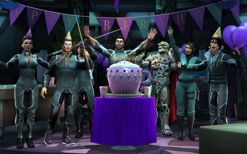 Saints Row - Gat out of Hell - Happy Birtday