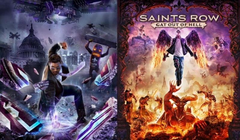 Saints Row IV Re-elected & Gat out of Hell - Jaquette