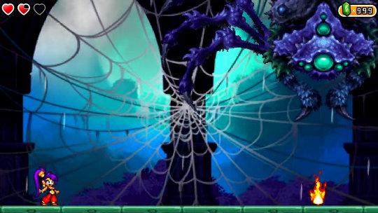 Shantae and the Pirate's Curse Araignée
