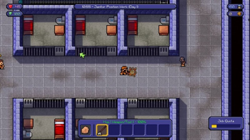 The Escapists - Nettoyage