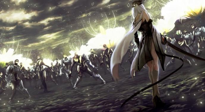 Drakengard 3 Fight
