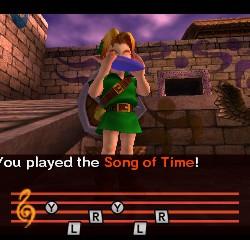 Zelda Majora's Mask 3D - Song of Time