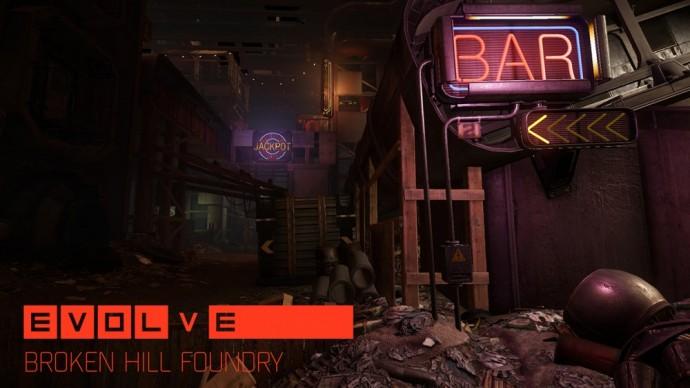 Deux nouvelles cartes pour Evolve - Broken Hill Foundry - LightninGamer