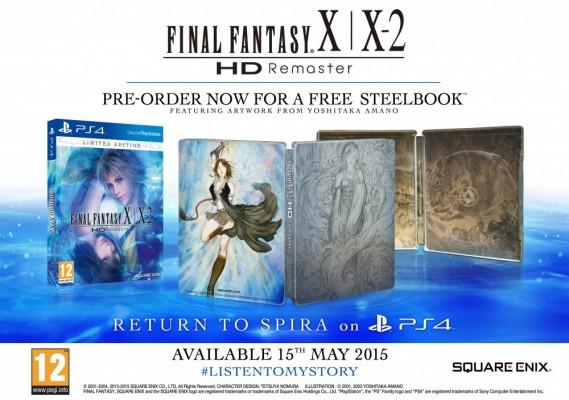 FInal Fantasy X/X-2 HD Remaster Edition limitee