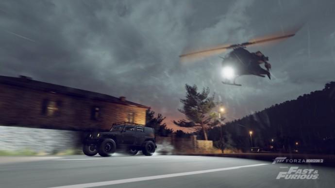 Forza Horizon 2 presents Fast & Furious défis