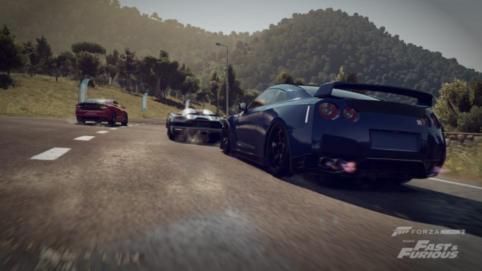 Forza Horzon 2 presents Fast & Furious Nissan GTR