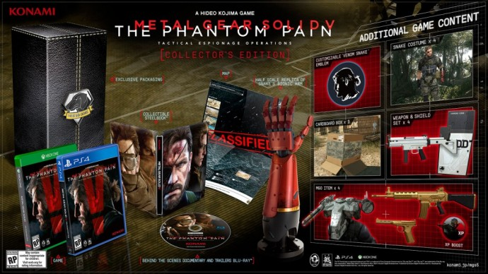 Metal Gear Solid 5 The Phantom Pain Collector's Edition