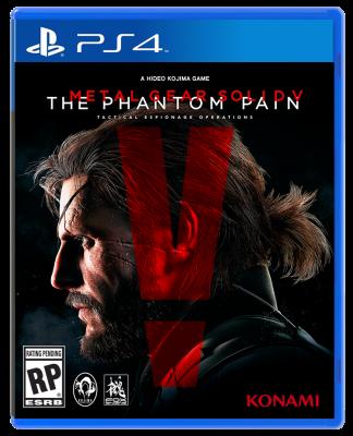 Metal Gear Solid 5 The Phantom Pain PlayStation 4