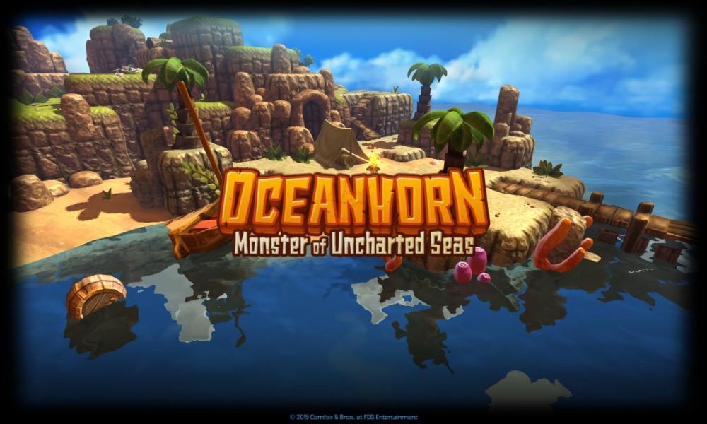 écran accueil Oceanhorn: Monster of Uncharted Seas