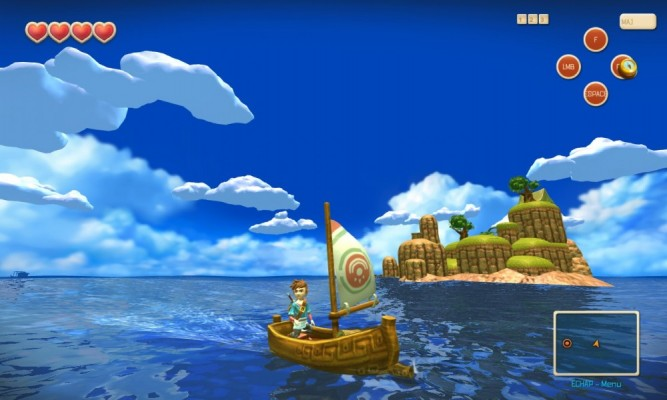 Test de Oceanhorn: Monster of Uncharted Seas [Xbox One] Lightningamer (08)