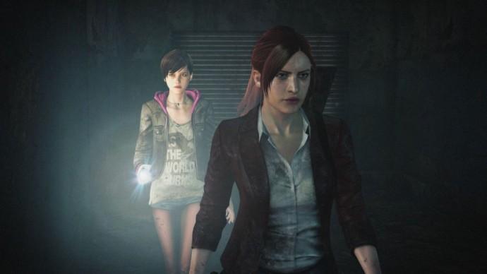 Resident Evil Revelations 2 Calire Redfield