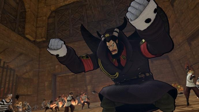 One Piece Pirates Warriors 3 Magellan prend la pose
