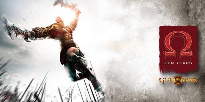 Ten years of God of War