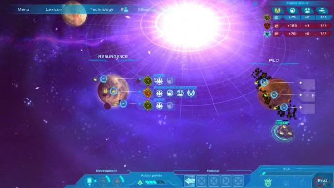 Test Etherium [PC] - LightninGamer - Carte Stratégique