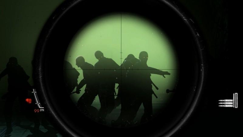 Zombie Army Trilogy Visée de Sniper