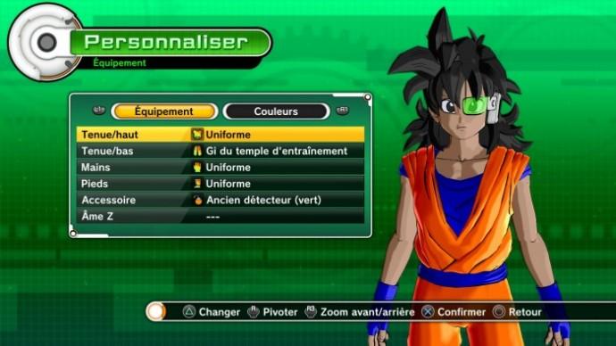 Dragon Ball Xenoverse - Création