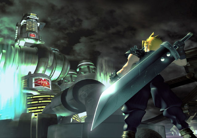 Final Fantasy VII cloud midgar