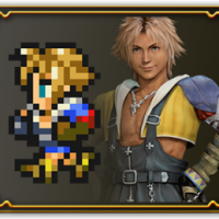 Final Fantasy Record Keeper Tidus