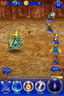 Final Fantasy Record Keeper Cloud