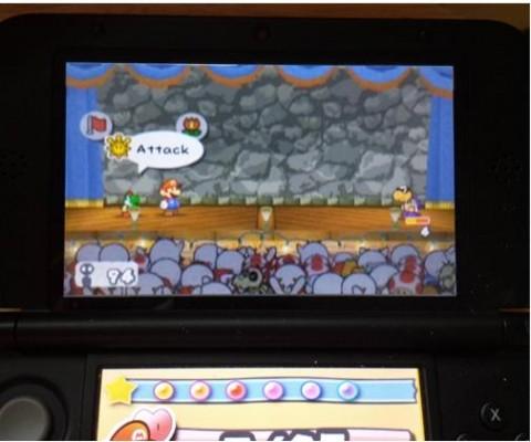 Mario Paper la porte millénaire sur 3DS arrive ?