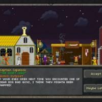 Pixel Heroes village