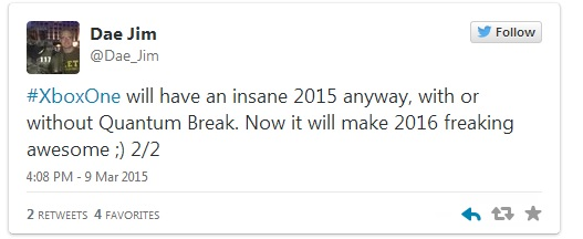 Quantum Break repoussé en 2016 ? LightninGamer (03)