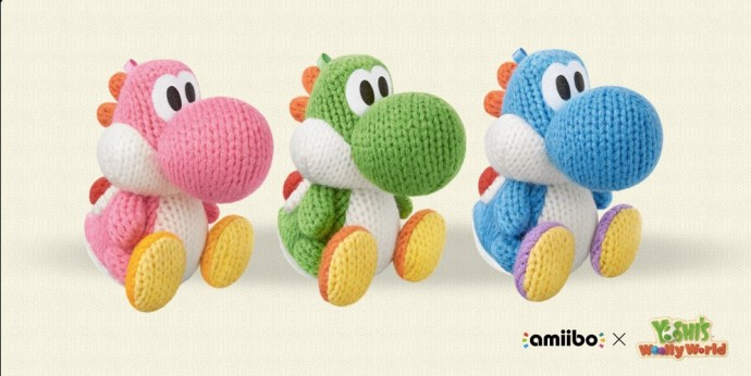 Amiibo Yoshi Wolly World