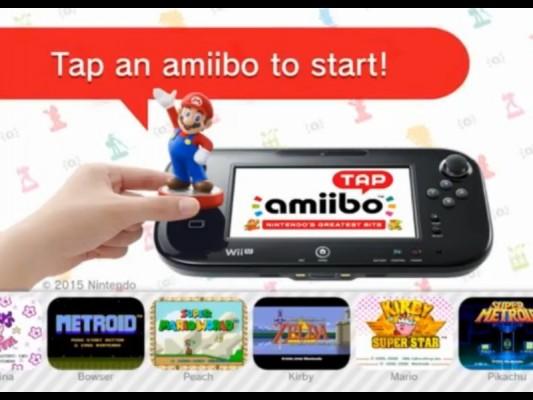 Amiibo mini jeu