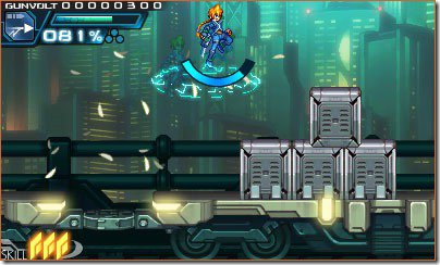 Azure Striker GUNVOLT Train