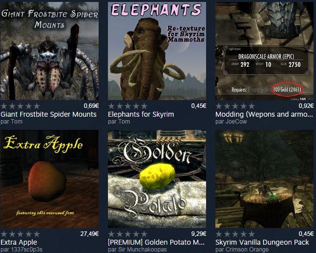 Désormais, les mods seront payants sur Steam 02