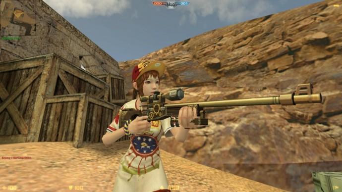 Counter-Strike Nexon Zombies- Nouvelle arme- LightninGamer