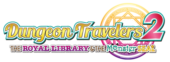 Dungeon Travelers 2 -The Royal Library & the Monster Seal Logo