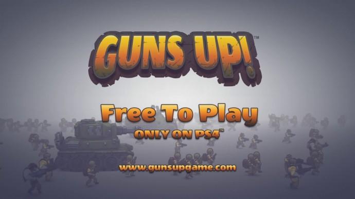 Guns Up! Logo