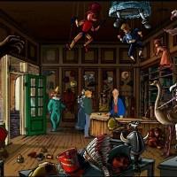 Les Chevaliers de Baphomet magasin de jouets
