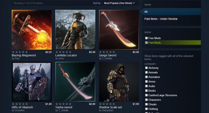 Valve fait marche arrière à propos des mods - LightninGamer - mods payants