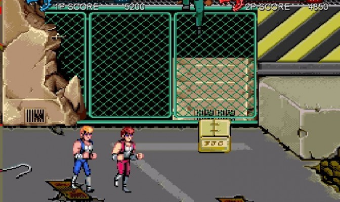 Double Dragon Trilogy Jumeaux