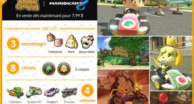 Test Mario Kart 8 : DLC Animal Crossing [Wii U]