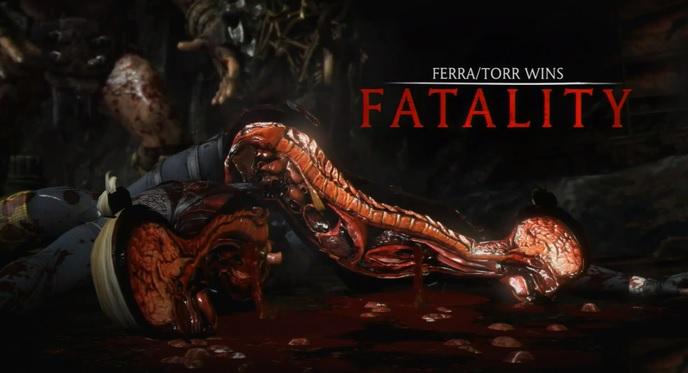 Test Mortal Kombat X sur Xbox one