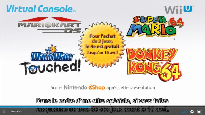 promo console virtuelle