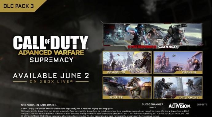 Call of Duty Advanced Warfare, le 3ème DLC, Supremacy, s'offre un trailer - LightninGamer - Supremacy contenu