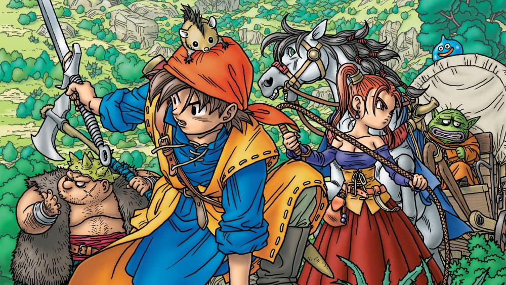 Artwork de Dragon Quest 8