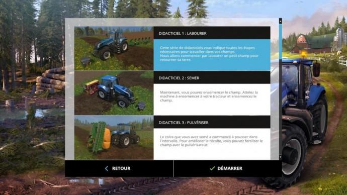 Farming Simulator 15 Didacticiels
