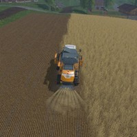 Farming Simulator 15 une moissoneuse