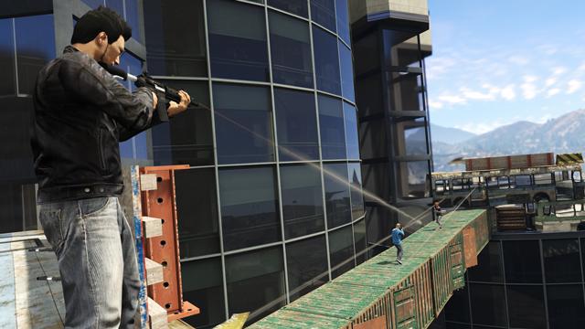 GTA V  10 nouvelles activités online 02 - LightninGamer - Triphasic