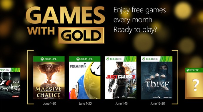 Games with Gold Juin 2015