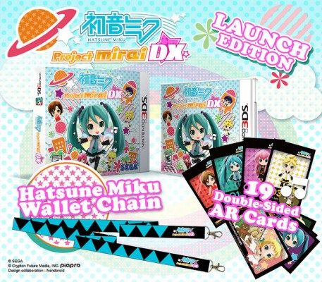 Hatsune Miku Project Mirai DX lancement